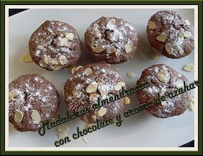 MADALENAS ALMENDRADAS,CON CHOCOLATE Y AROMA DE AZAHAR Sl372713%2Bcopia