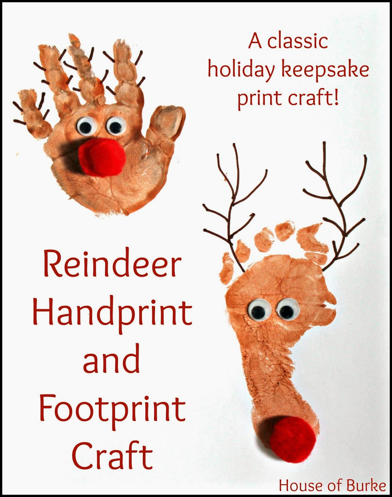 Printable reindeer picture frame craft new calendar for Reindeer project