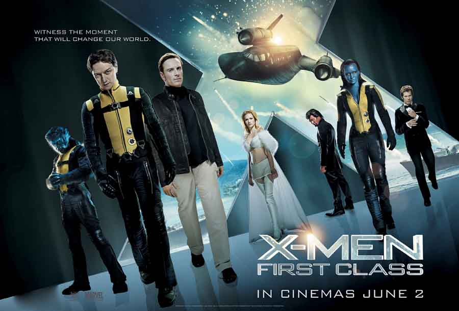x men first class Poster                 X Men First Class 2 Poster