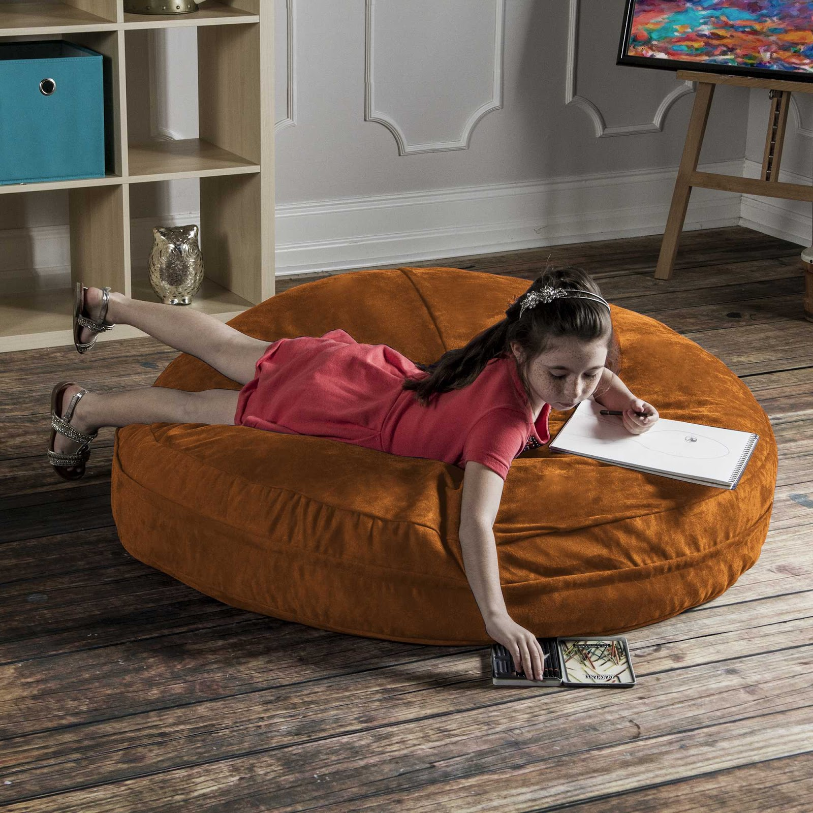 It Is Our Most Por Kid S Bean Bag Chair Because The Versatile Around You Get A Lot Of Bang For Your Buck With This