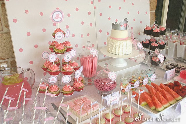 Lady hanekoma apa itu candy buffet for Decoracion cumpleanos nina