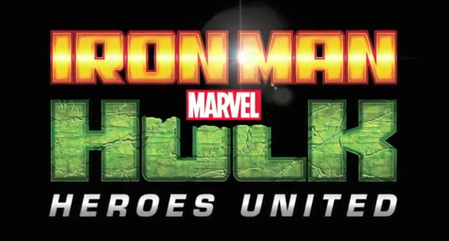 Marvel's Iron Man and Hulk Heroes United 2013 spin-off cell-shaded animated direct-to-home video movie NYCC 2012 debut trailer
