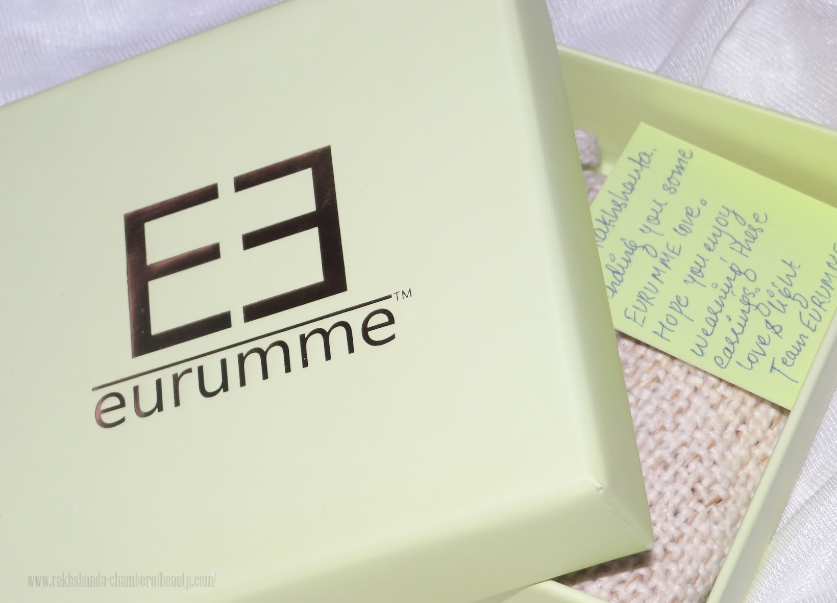 Signature Earrings from Shop Eurumme