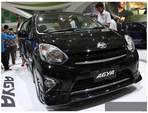 Mobil LCGC (1): Spesifikasi & Harga Astra Toyota Agya