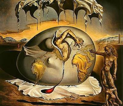 Nacimiento del Mundo - Salvador Dalí