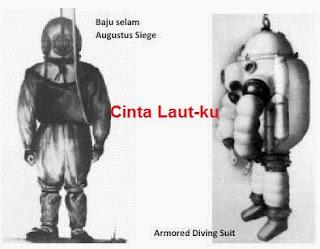 sejarah alat diving kuno