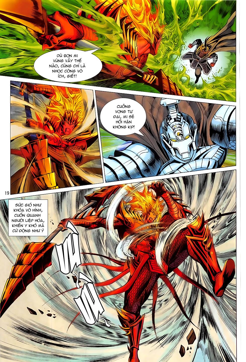 Chiến Phổ chap 20 - Trang 19