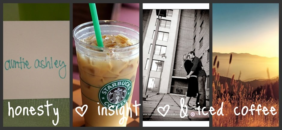 honesty | insight | and iced coffee.