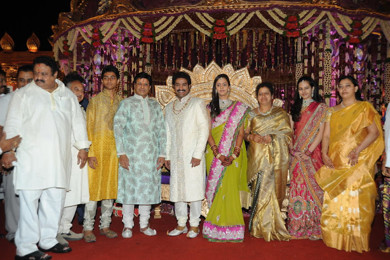 Celebrities  Jr NTR  Pranathi s Marriage gallery