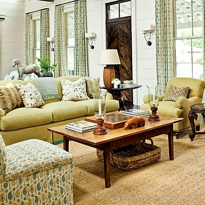 mix and chic southern living 39 s 2013 idea house