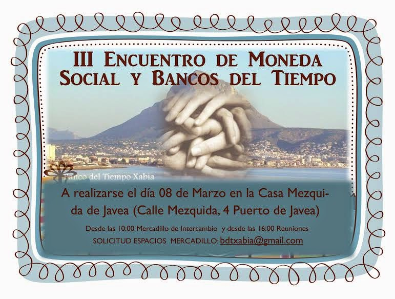 III ENCUENTRO DE MONEDA SOCIAL Y BANCOS DEL TIEMPO