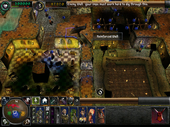 dungeon keeper flash game