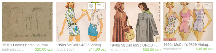 Flashback Summer: Midvale Cottage Etsy Shop