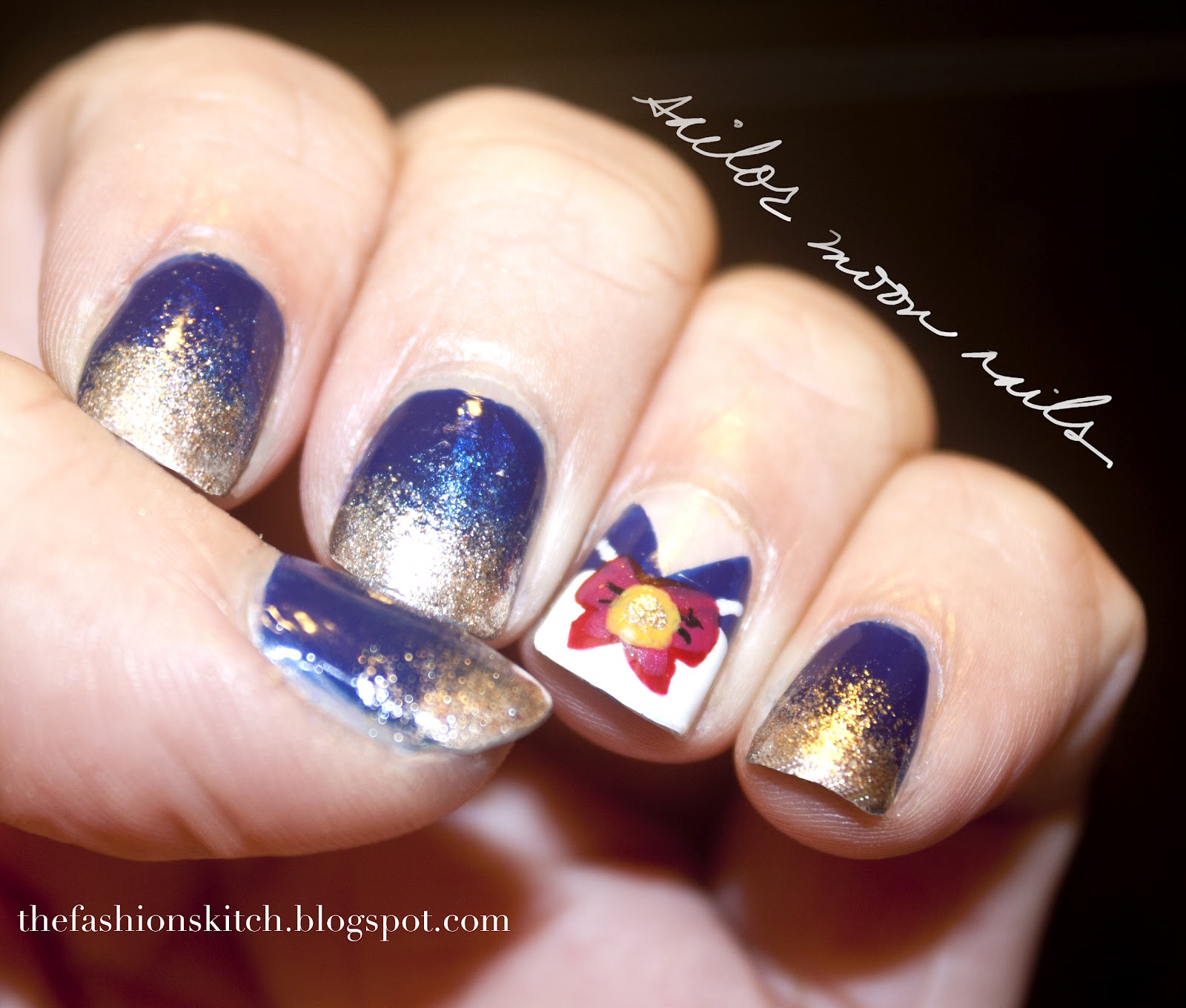 Skitch I Y Sailor Moon Nails