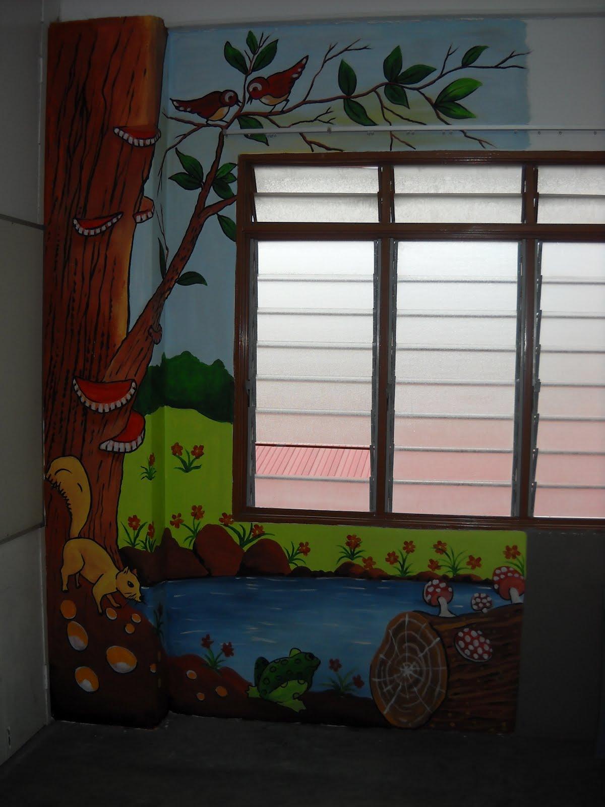 Pelukis mural shah alam bilik darjah sk jalan u3 subang for Mural sekolah rendah