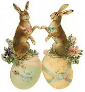 Conejos de Pascua. Publicado por Princesa Nadie en 16:08