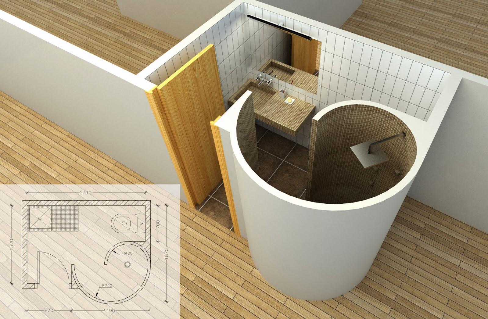 Requisitos Baño Minusvalidos:Si queremos un diseño integrado en el baño