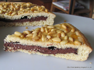 Chocolate Tart With Pine Nuts Recipes — Dishmaps