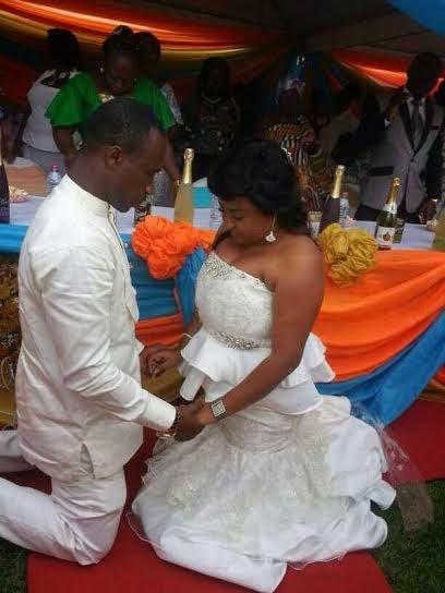 see all the photos film producer weds actress matilda asare
