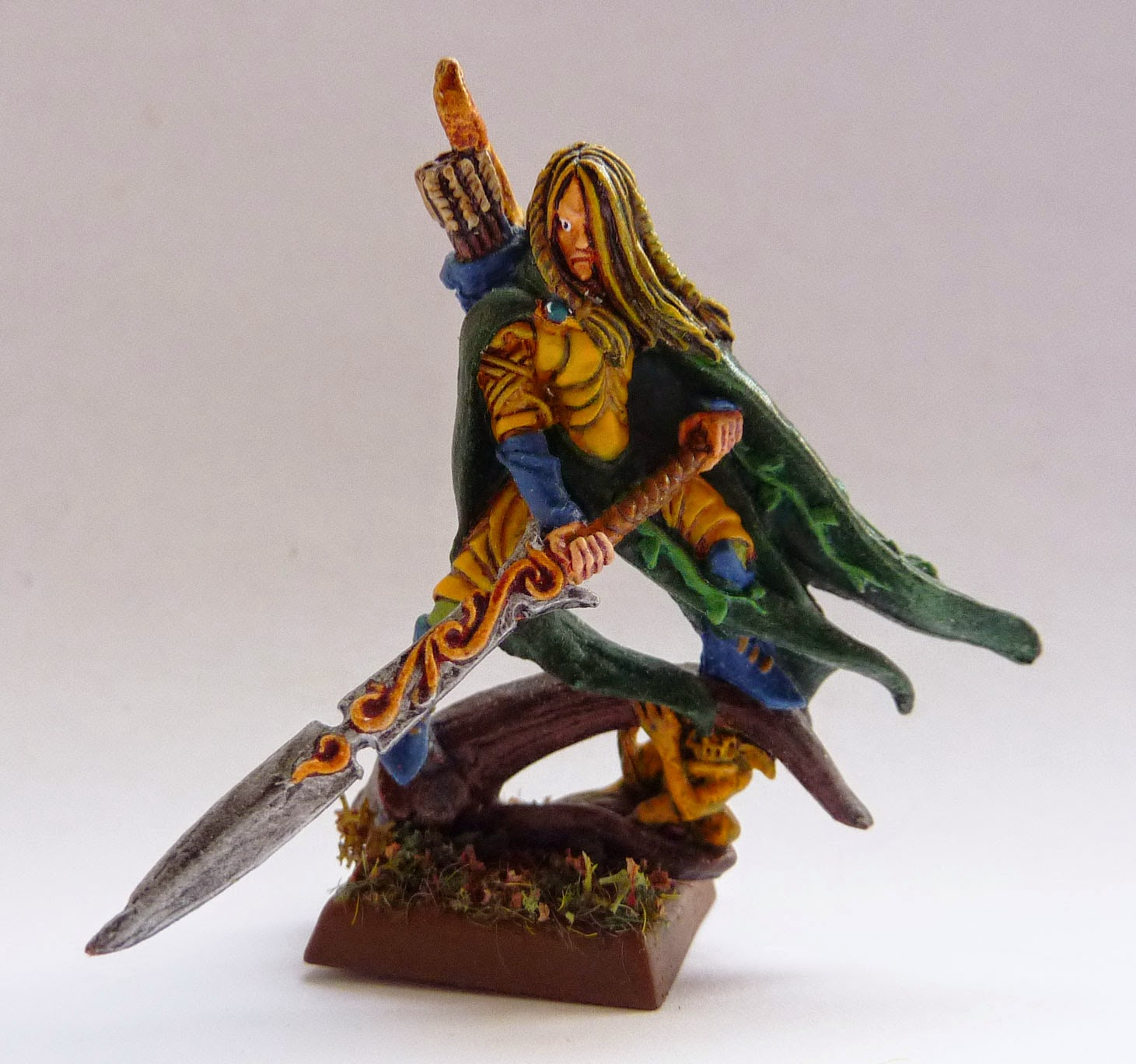 Warhammer Fantasy Battle - Wood Elf Glade Captain