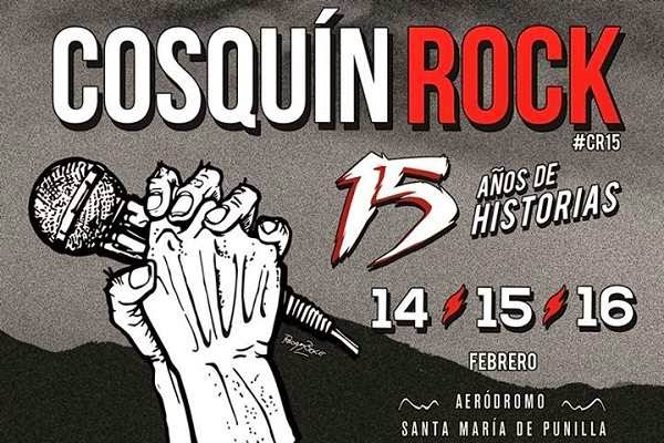 Cosquín Rock 2015: Tickets & Grilla (Grid)