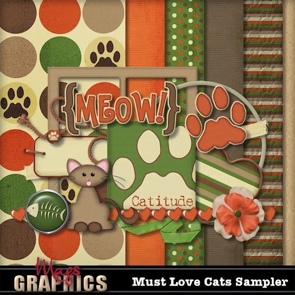 NEW KIT:  Must Love CATS & Freebie!