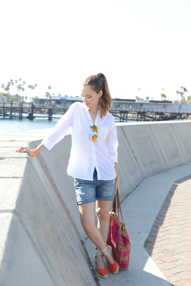 easy summer outfit via M Loves M