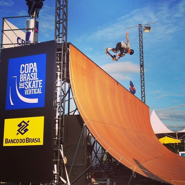 Circuito Banco do Brasil pista de skate no evento