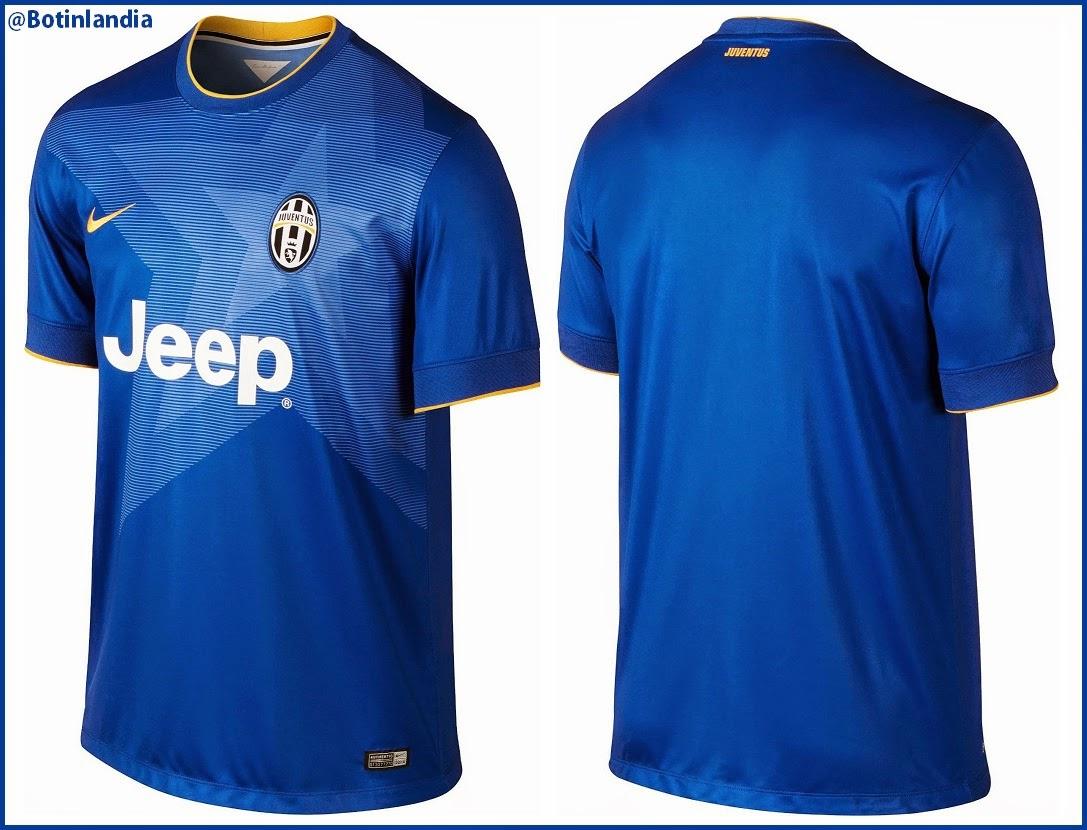 -Kits Design ¨D10S¨- Para Avatar. - Página 5 Camiseta+Suplente+Juventus+2014-15