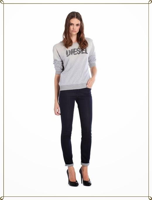 Sweatshirt Kollektion 2014 von Diesel
