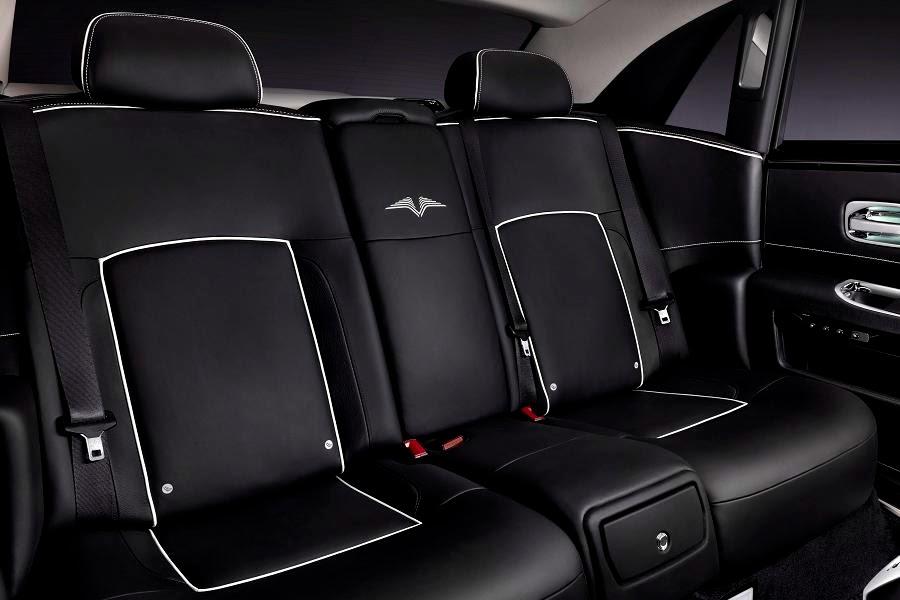 Rolls-Royce Ghost V-Specification (2014) Rear Seats