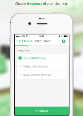 helpling app on demand service home cleaning platform