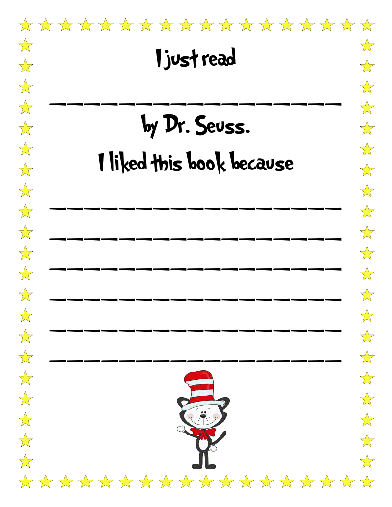 dr suess essay Dr seuss's the cat in the hat is used as a primer to teach students how to analyze a literary work using plot, theme, characterization, and psychoanalytical criticism.
