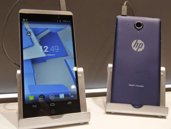O phablet HP Slate 6 aceita 2 chips e tem tela de 6 polegadas