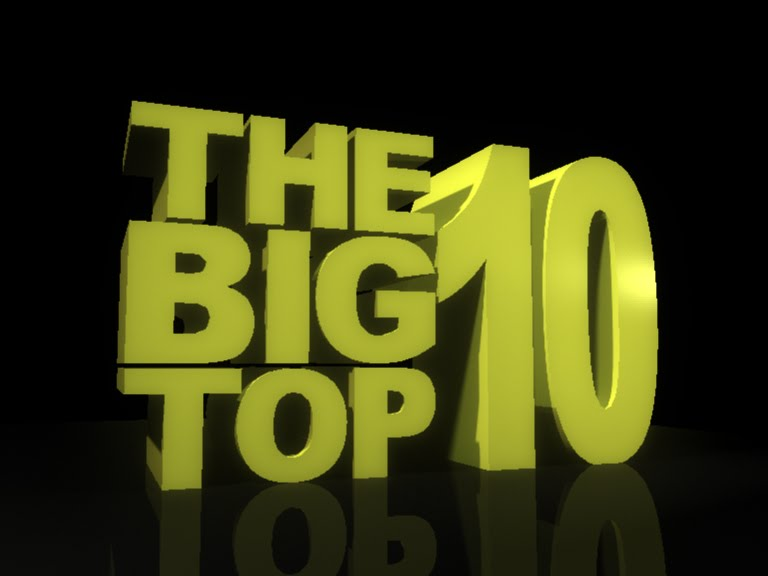 The Big Top Ten