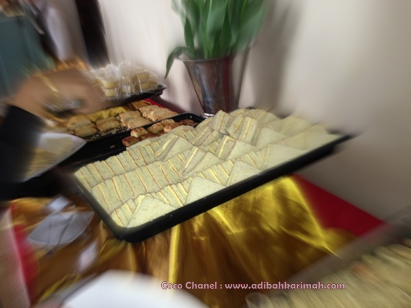 Coco Chanel Dear Hanis Haizi Party by Adibah Karimah showing foods