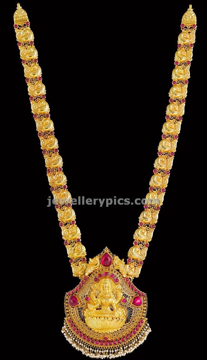 kalyan jewellers temple jewellery