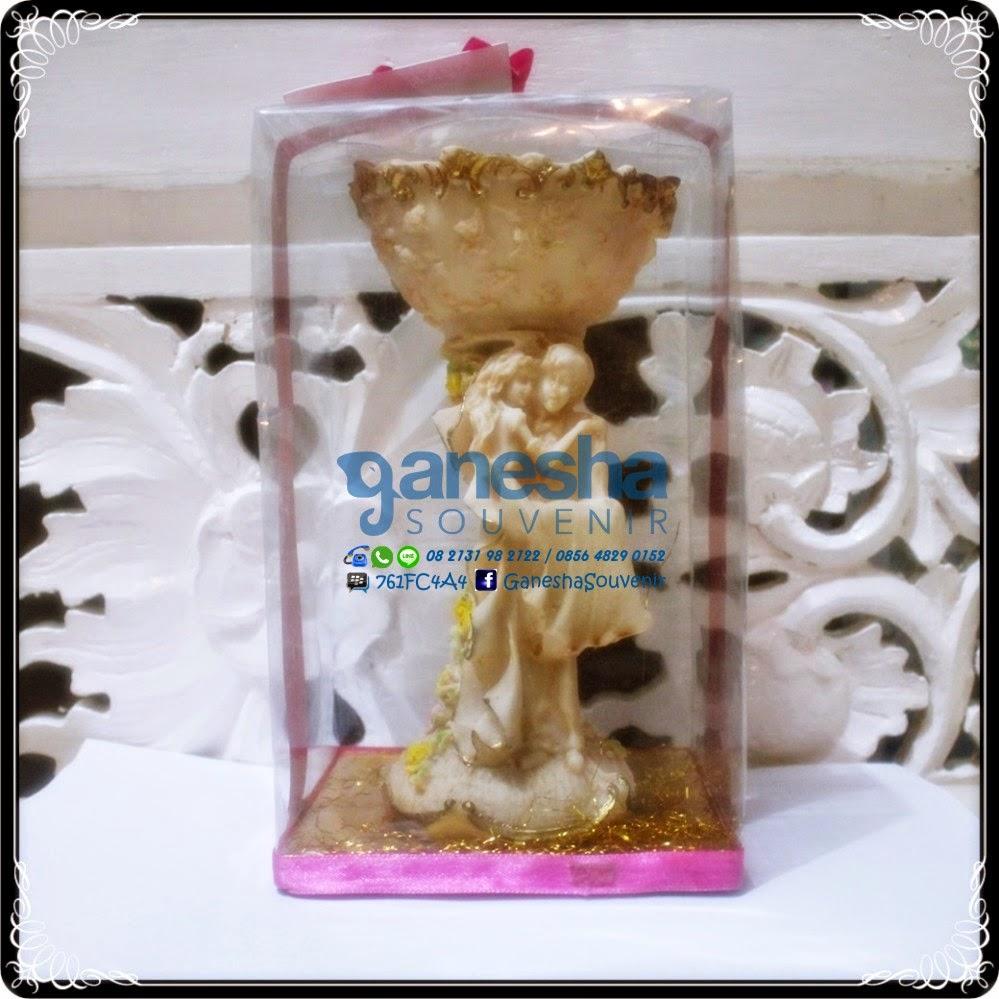 grosir souvenir tempat permen model pengantin fiber unik murah surabaya