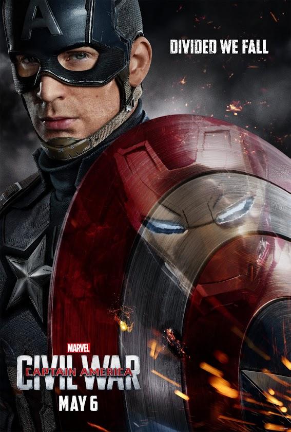 Capitão América: Guerra Civil ganha trailer memorável e 3 posteres