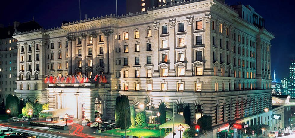 The Fairmont San Francisco Hotel (in reality)