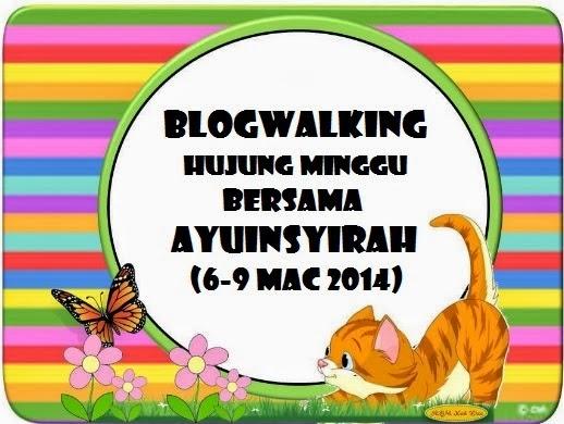 Segmen Blogwalking Hujung Minggu