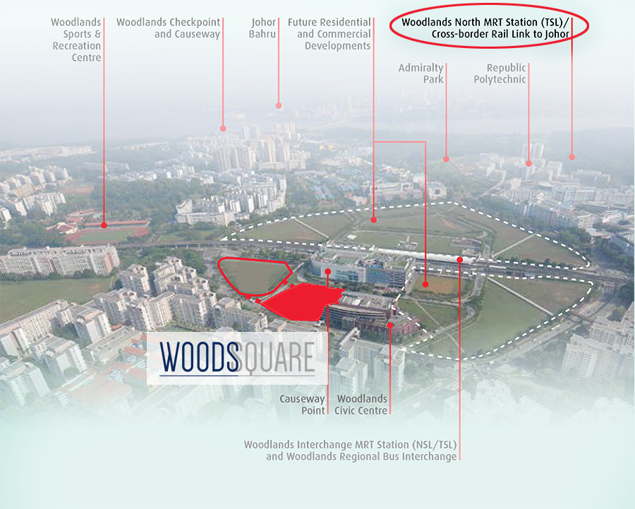 Woods Square and the high speed rail link to KL