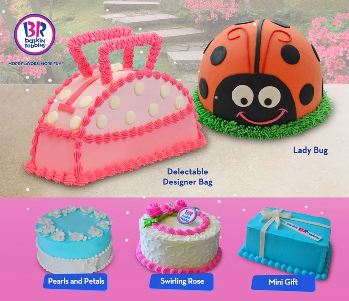 BaskinRobbins ice cream cakes for exceptional moms enjoying