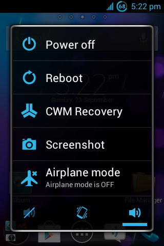 Custom Rom Real ICS R6 Live With Walkman Sony Android Bandung
