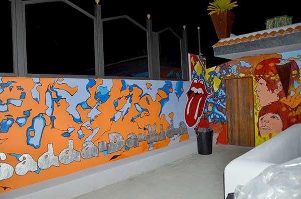 """mural """"In A Gadda Da Vida"""" de Iron Butterfly"""