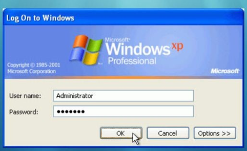 Log on to windows