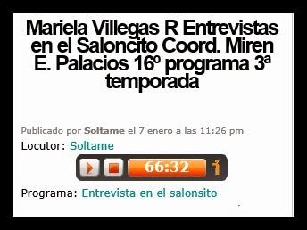 Entrevista en el Saloncito. Universal Radio