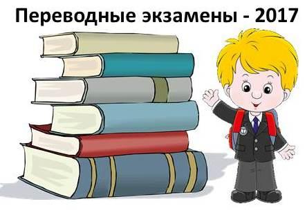 Готовимся к переводным экзаменам – 2017