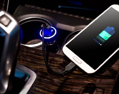 Apacer Dual USB Vehicle Charger C320