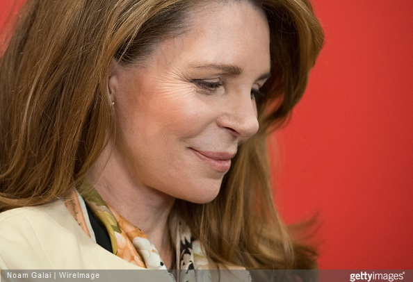 Queen Noor of Jordan attends Barnard College's 7th Annual Global Symposium at Barnard College